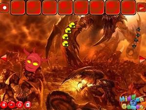 Jouer à Escape from dangerous hell