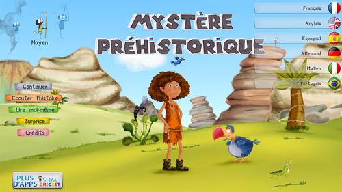 Applis tablette - Mystère préhistorique  (payante)