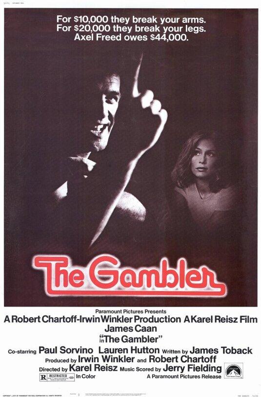 THE GAMBLER BOX OFFICE USA 1974