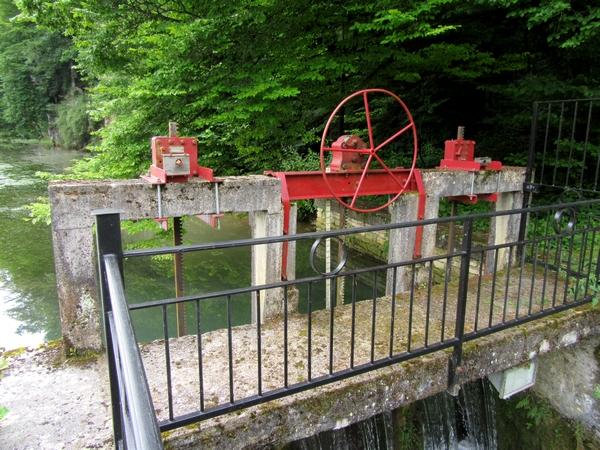 Pour les journées du patrimoine de pays et des moulins, François Blanchot nous a ouvert son ancienne forge à Aignay le Duc