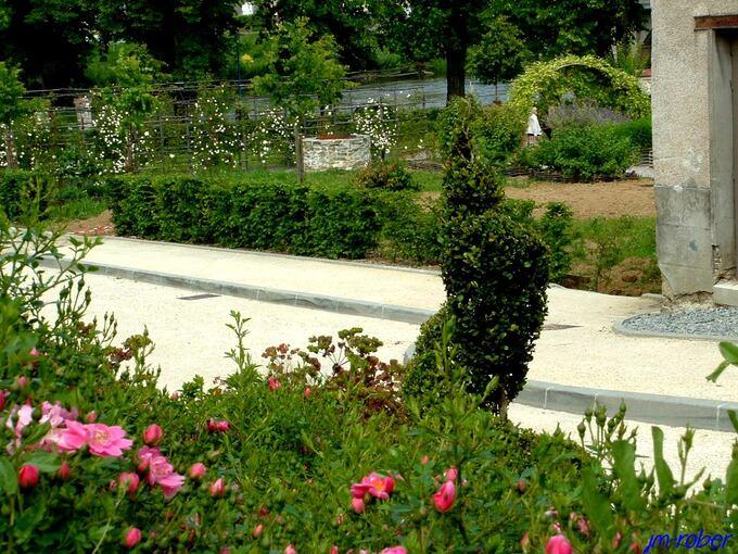 Aixe sur Vienne: Un jardin éducatif et pédagogique ouvert à tous en bord de vienne