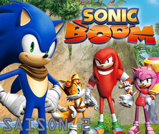Sonic Boom - 2x01 - Tommy Tonnerre : méthode d'acteur