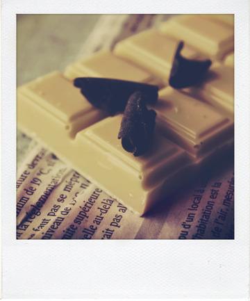 Cake marbré au chocolat noir et blanc