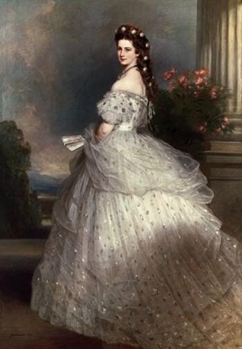 ELISABETH D'AUTRICHE (SISSI)