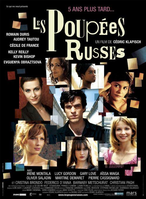 BOX OFFICE FRANCE 2005 LES POUPEES RUSSES
