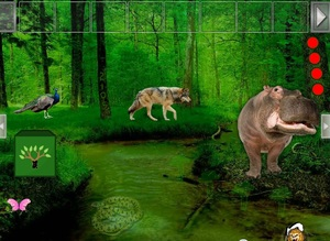 Jouer à Wild animals forest escape