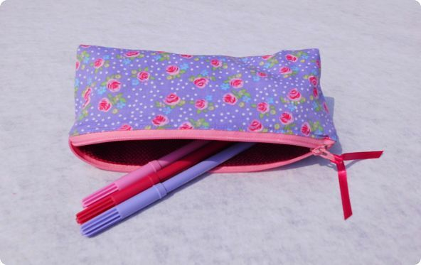 Trousse English rose