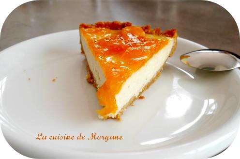 Cheesecake léger à la confiture