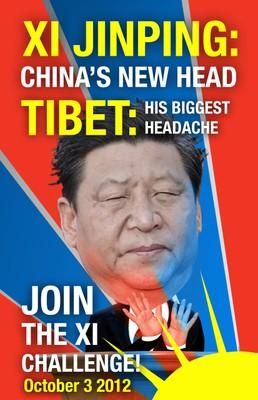 Manifestation pour le Tibet à Paris le 3 octobre : défions Xi Jinping !