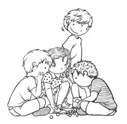 Jouer aux billes