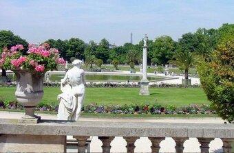 ~~ Au Jardin du Luxembourg ~~ de D. Thaly