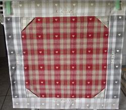 Cadre photo en patchwork