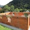 elévation des murs en briques 026