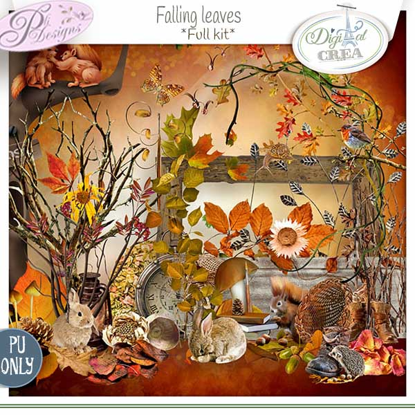 FALLING LEAVES by Pli Designs