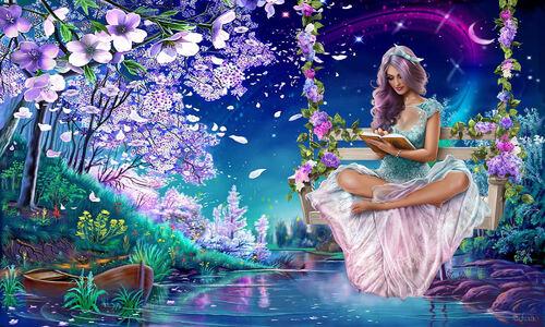 Ensemble balançoire fairy