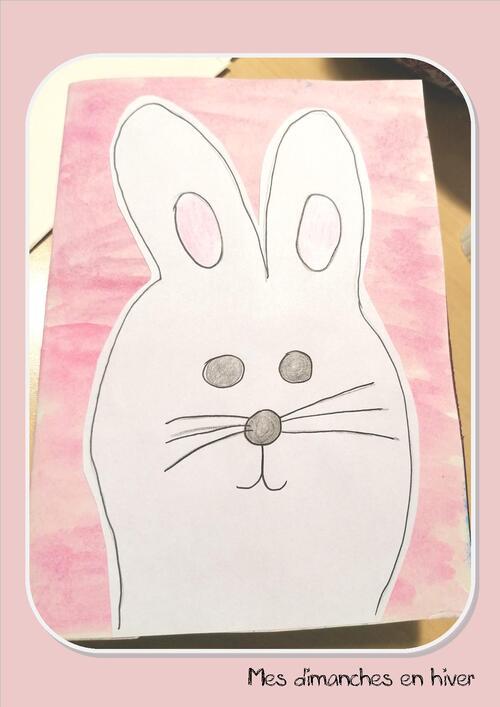 Faire une carte pop up de Pâques