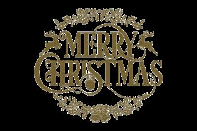 Merry Christmas - inscription