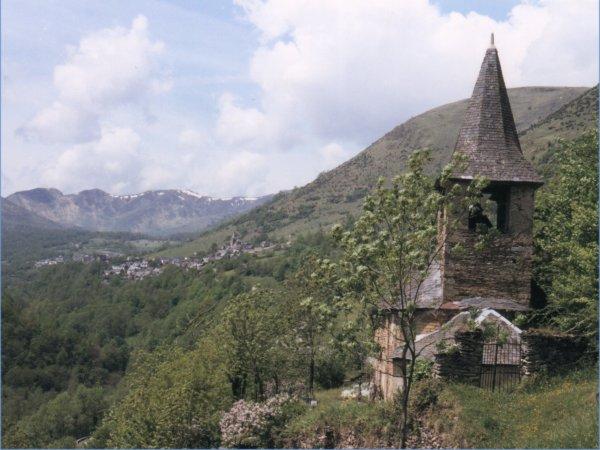 L'église au début des années 80, avant les travaux