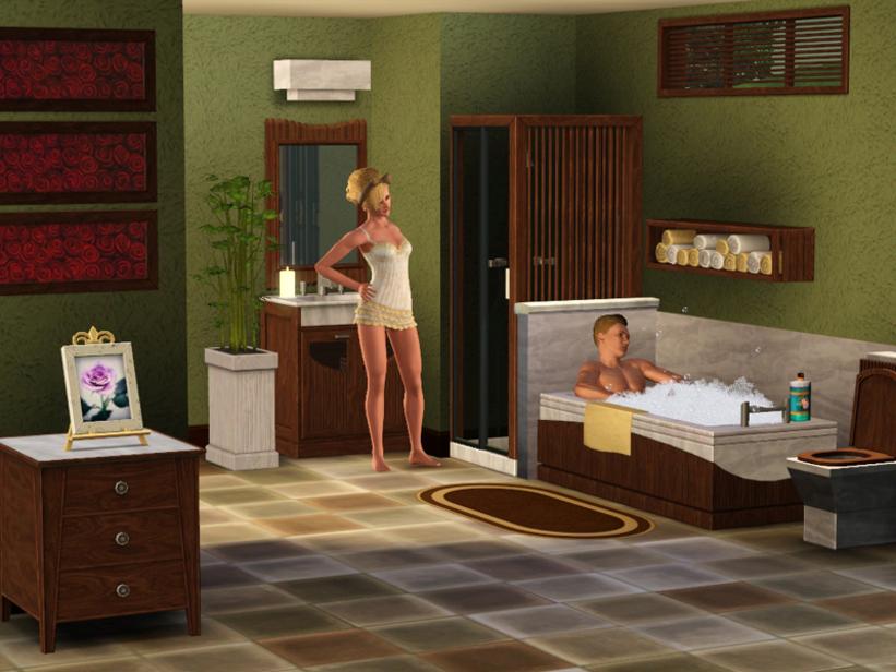 """Résultat de recherche d'images pour """"Salles luxueuses de bain Sims images gratuites"""""""