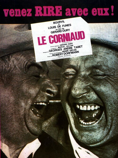 LE CORNIAUD - BOX OFFICE LOUIS DE FUNES 1965