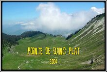 Pointe de Banc Plat dans les Bauges
