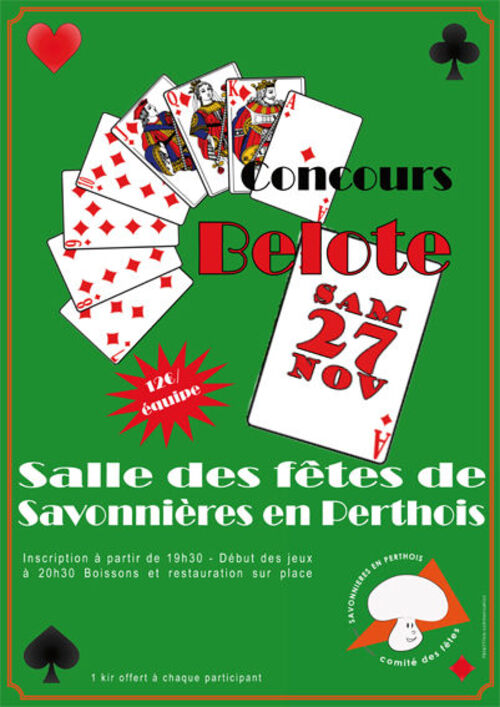 Le grand Almanach de la France : La Belote.