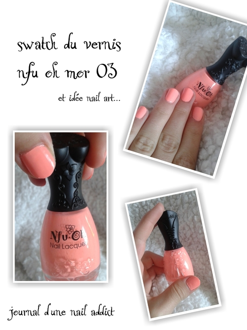 swatch vernis nfu oh mor 03 journal d'une nail addict