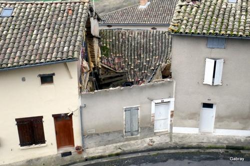 La maison écroulée