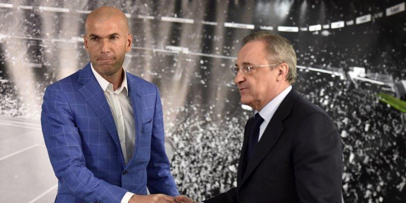 Zinédine Zidane, nouvel entraîneur du Real