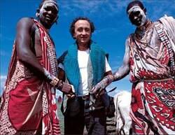 Xavier Péron et la sagesse Masaï