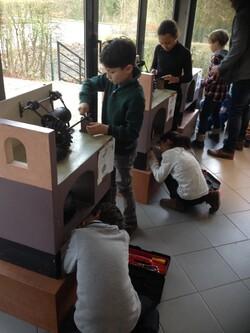 Visite au Moulin de la Blies, le 19-01-18