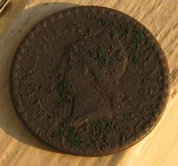Un centme 1848 avers