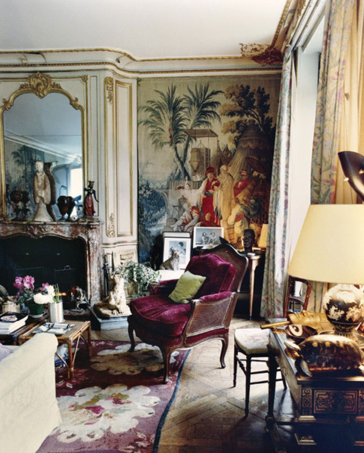 Schiaparelli's Parisian apartment shot by François Halard