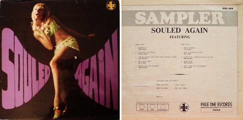 SOULED AGAIN - VARIOUS PAGE ONE RECORDS UK