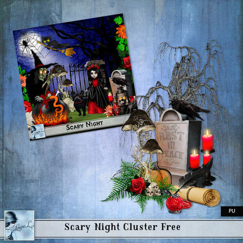 Scary Night Cluster Free