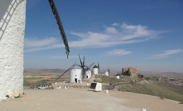 LA ROUTE DE DON QUICHOTE - CONSUEGRA