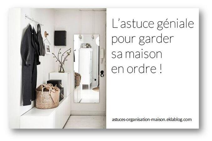 Populaire astuces} ORGANISATION maison - SOLUTIONS PRATIQUES & CRÉATIVES  AT75