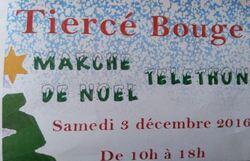 28/11/2016 - Tiercé Bouge - Téléthon.