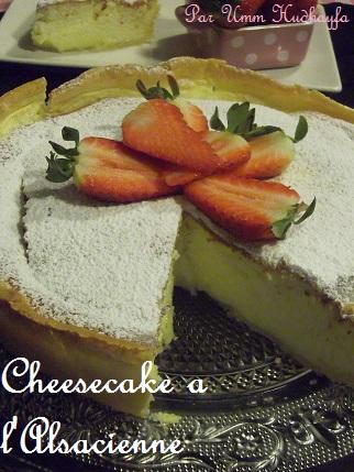 Cheesecake a l'alsacienne