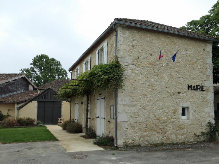 La mairie - Lagraulet-du-Gers