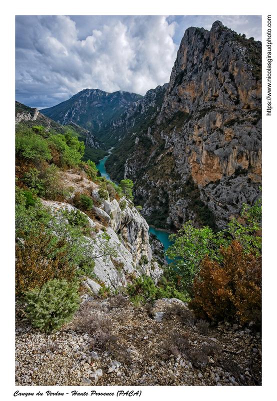 Le Verdon du lac de Castillon à Sainte Croix (PACA)