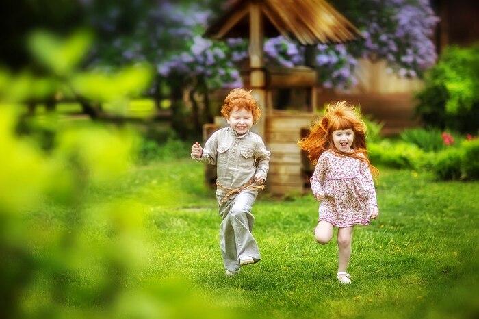 Fée enfance: des photos d'enfants vraiment douces par Irina Nedyalkova