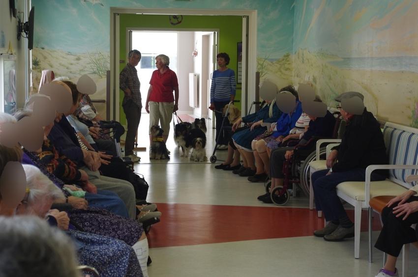 Visite à la maison de retraite de Saint Pierre d'Oléron