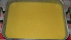 Palets de butternut, polenta, coulis de tomates et sa tuile de parmesan...