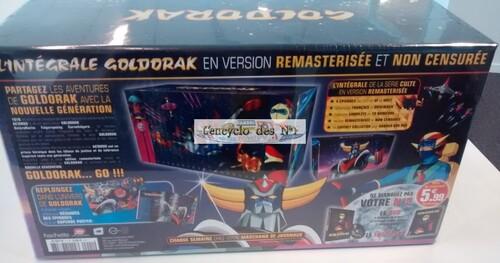 N° 1 Goldorak l'intégrale en DVD - Test