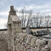 PUYGAILLARD de QUERCY Mur en pierre sèche dans le cimetière 2019 04 photo mcmg82