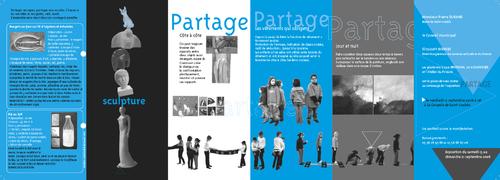 Dépliants et affiches des ateliers du Prieuré