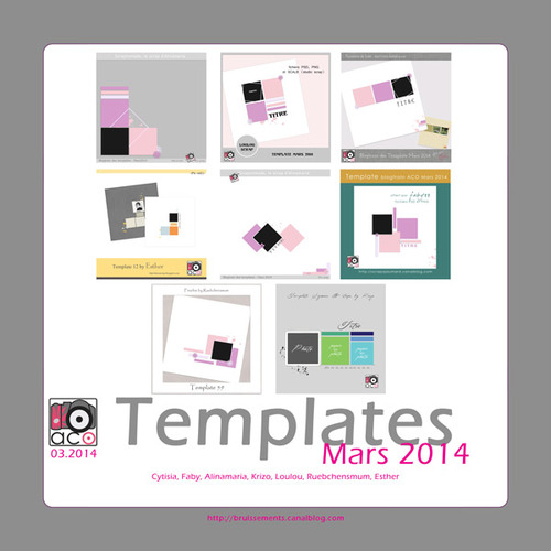 ACO: le Blog-train templates d'Avril