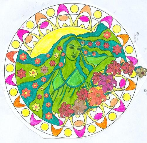 DOMANDALAS album de coloriages mandalas enchantés