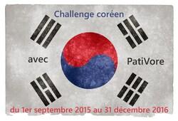Challenge spéciale Corée